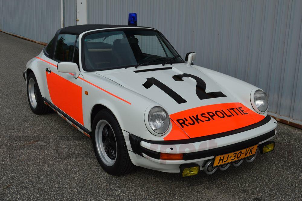 911 Dutch Police Car